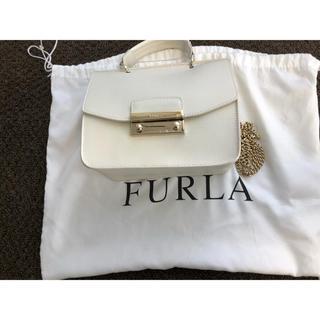 Furla - 美品⭐︎フルラ ハンドバック⭐︎ショルダーチェーン付き