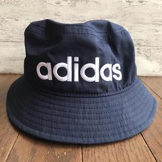 adidas - 【 adidas 】 バケットハット 帽子  ネイビー  アディダス
