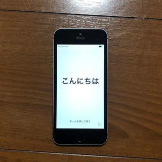アップル(Apple)のiPhone5S au 本体 64GB(スマートフォン本体)