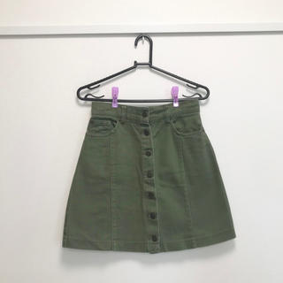 INGNI - カーキ タイトスカート(膝上)
