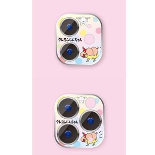 iphone 11/11pro カメラフィルム レンズカバー クレヨンしんちゃん(フィルムカメラ)