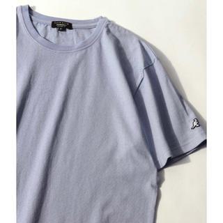 カンゴール(KANGOL)の別注コラボ ヘビーウェイト袖ワッペンクルーネック半袖Tシャツ(Tシャツ(半袖/袖なし))