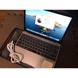 アップル(Apple)の【専用】Macbook retina 12インチ スペースグレー(ノートPC)