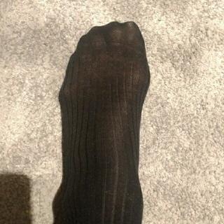 POLO RALPH LAUREN - 中古黒靴下 メンズ ブラックソックス