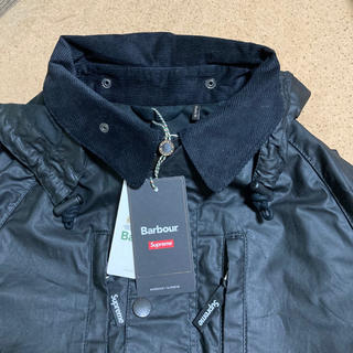 Supreme - Supreme×Barbour Waxed Cotton Jacket