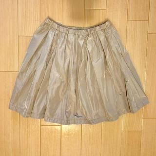 ジーユー(GU)の[新品未使用]GU タフタ ギャザースカート(ミニスカート)