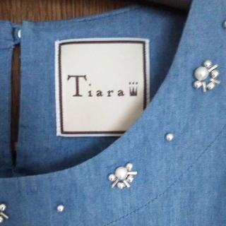 ティアラ(tiara)のTiara ワンピース(ひざ丈ワンピース)