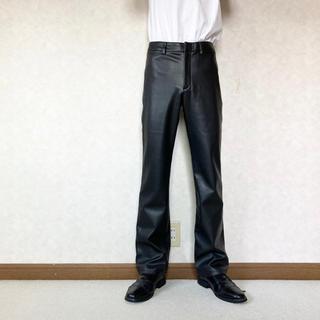 JOHN LAWRENCE SULLIVAN - fake leather slacks