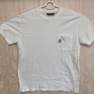 マンシングウェア(Munsingwear)のコットン100% マンシング 白Tシャツ(Tシャツ/カットソー(半袖/袖なし))