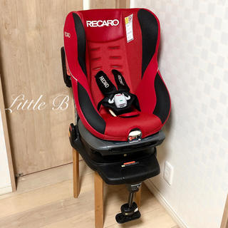 RECARO - 【美品】RECARO/レカロ*回転式チャイルドシート☆赤!