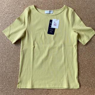 イエナスローブ(IENA SLOBE)のBC STOCK SIMPLICITE ライムグリーン イエロー Tシャツ(Tシャツ(半袖/袖なし))