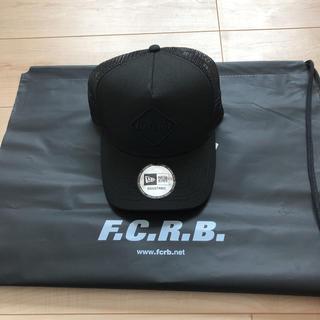エフシーアールビー(F.C.R.B.)のfcrb キャップ ブラック 新品 未使用(キャップ)