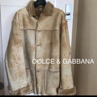 DOLCE&GABBANA - D&G ドルチェ&ガッバーナ シープスキンジャケット