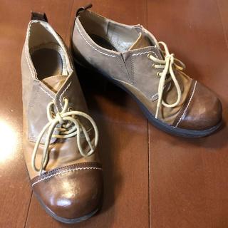 アシナガオジサン(あしながおじさん)のあしながおじさん マニッシュシューズ ヒールアップシューズ(ローファー/革靴)