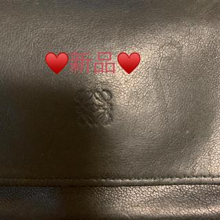 エトロ(ETRO)の✨新品ERTO 黒本革折りたたみ財布✨(財布)
