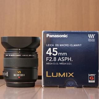 Panasonic - LEICA DG MACRO-ELMARIT 45mm F2.8 ASPH.