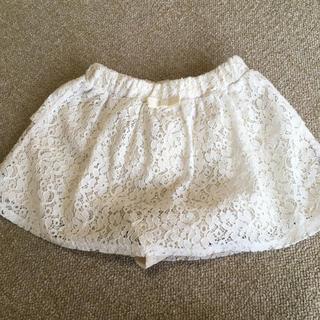ジーユー(GU)のGU 110 女の子 スカート風ショートパンツ(スカート)