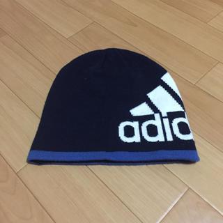 アディダス(adidas)のアディダス ニット帽 キッズ(帽子)