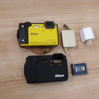 Nikon デジタルカメラ COOLPIX W300 [イエロー](コンパクトデジタルカメラ)