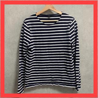 コス(COS)のCOS コス Tシャツ 長袖 ボーダー(Tシャツ/カットソー(七分/長袖))