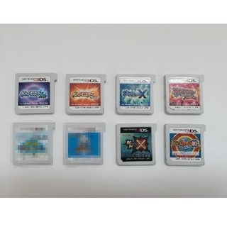 ニンテンドー3DS(ニンテンドー3DS)のポケモン等 3DS ソフト(携帯用ゲームソフト)