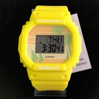 ベビージー(Baby-G)のBABY-G 限定品 BGD-560BC-9JF イエロー(腕時計)