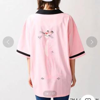 WEGO - WEGO ピンクパンサーコラボボーリングシャツ