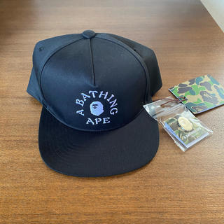 A BATHING APE - A BATHING APE SNAP BACK CAP