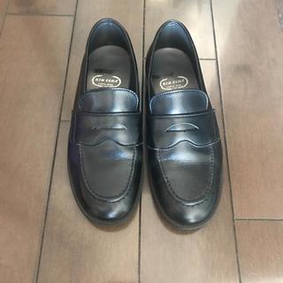 ディーゼル(DIESEL)のキッドコア  ローファー 黒 革靴 21.5cm(ローファー)