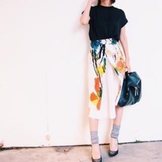STUDIOUS - TARO HORIUCHI×UNITED TOKYO プリントスカート