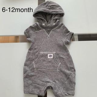 babyGAP - baby GAP◎フード付きお出掛け用ロンパース