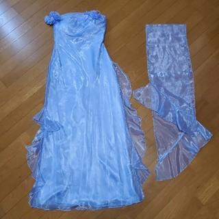 ブルー ロングドレス(ロングドレス)