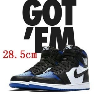 NIKE - 28.5cm Nike Air Jordan 1 Royal Toe