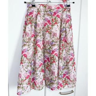 トッカ(TOCCA)の【洗える!】PARTY GIRL スカート(ひざ丈スカート)