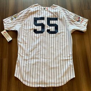 Majestic - 松井秀喜 2009 ヤンキース  #55 オーセンティックユニ 未着用タグ付き