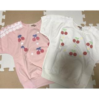 スーリー(Souris)のスーリー ♡トップス130(Tシャツ/カットソー)