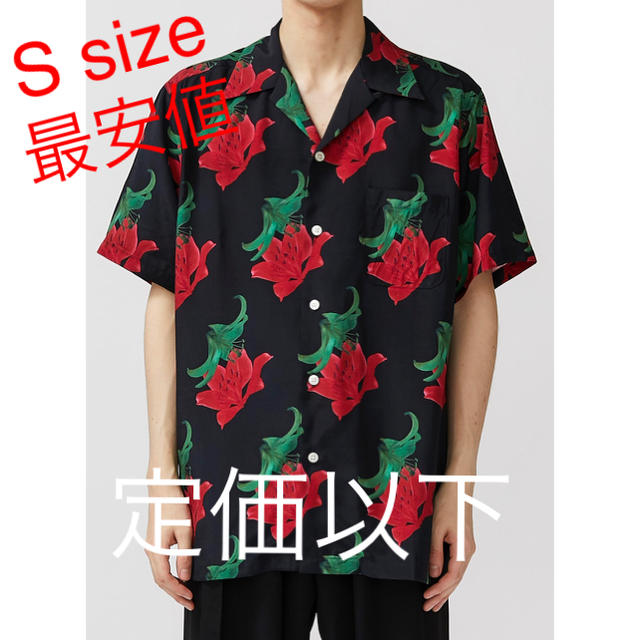 WACKO MARIA(ワコマリア)のワコ wackomaria アロハシャツ 百合 S size キムタク メンズのトップス(シャツ)の商品写真