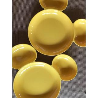 フランフラン(Francfranc)のミッキープレート2枚 (食器/哺乳ビン用洗剤)