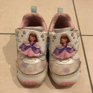 ディズニー(Disney)の女の子 靴 15㎝(スニーカー)