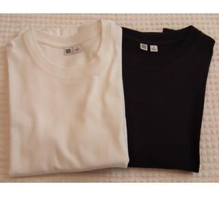 UNIQLO - ユニクロ U クルーネックTシャツ 白黒二枚セット