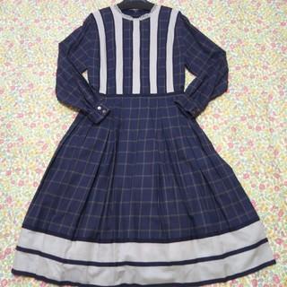 JaneMarple - ジェーンマープル シアーチェック コレットドレス 新品