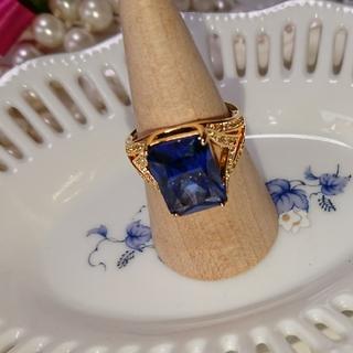 ブルー石リング(リング(指輪))