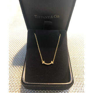 ティファニー(Tiffany & Co.)のティファニー T スマイル(ミニ) ペンダント(ネックレス)