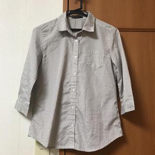 アルシーヴ(archives)のarchivesのチェックシャツ(シャツ/ブラウス(長袖/七分))