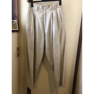 ドゥルカマラ(Dulcamara)のYANTOR Linen 3 tuck pants ヤントル yantor(スラックス)