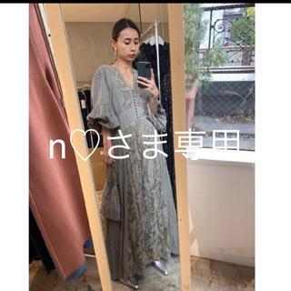 Ameri VINTAGE - 【新品タグ付き】完売アメリAmeri 刺繍ドレス 刺繍ワンピース