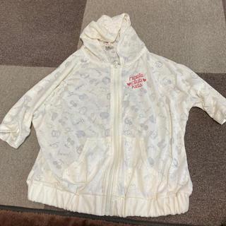女の子 パーカー半袖 サイズ 130(ジャケット/上着)