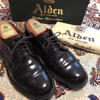 Alden - 週末値下げ‼️美品!オールデン990 6.5D 純正シューツリー付き‼️