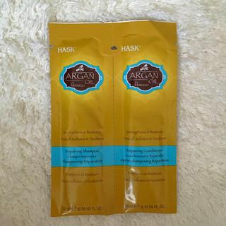 モロッカンオイル(Moroccan oil)のHASK アルガンオイル モロッコ シャンプー&コンディショナー(シャンプー/コンディショナーセット)