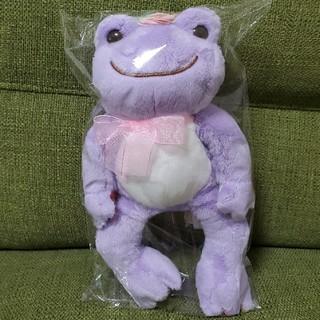かえるのピクルス フラワーパレード 限定色 紫(ぬいぐるみ)
